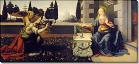 Благовещение - Винчи, Леонардо да