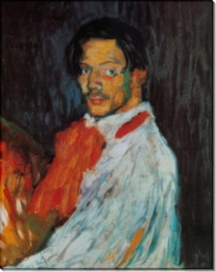 Автопортрет Пикассо, 1901 - Пикассо, Пабло