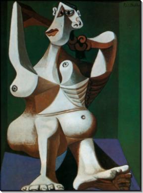 Причесывающаяся женщина, 1940 - Пикассо, Пабло