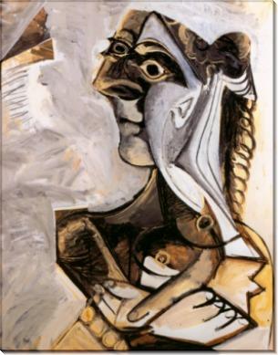 Сидящая женщина, 1971 - Пикассо, Пабло