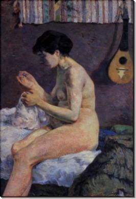 Эскиз обнаженной, 1880 - Гоген, Поль