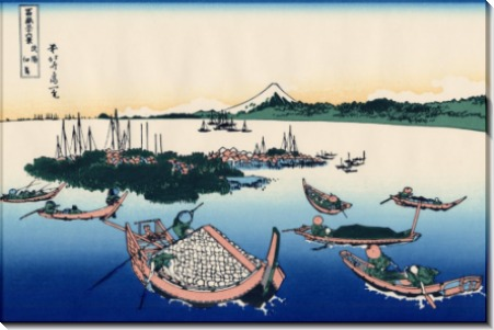 Острова Тсукада - Кацусика, Хокусай