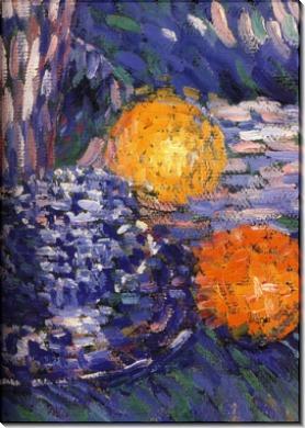 Натюрморт с гиацинтами и апельсинами. 1902 - Явленский, Алексей