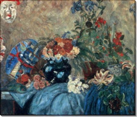 Цветы и маски, 1928 - Энсор, Джеймс