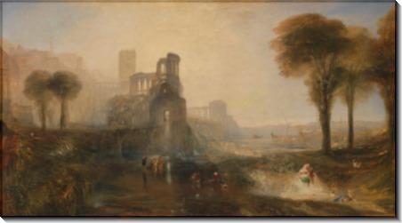 Дворец Калигулы и мост - Тернер, Джозеф Мэллорд Уильям