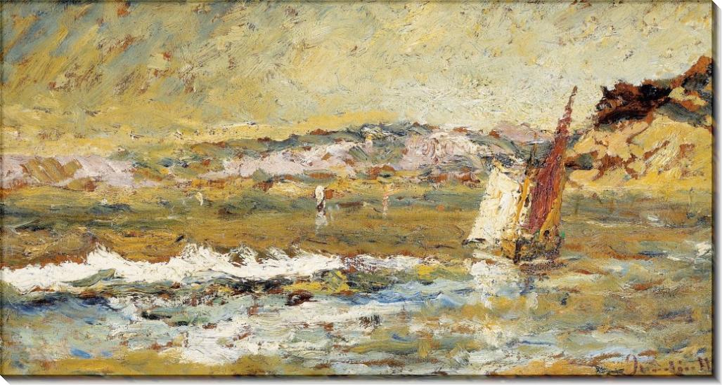 Море в Касси - Монтичелли, Адольф