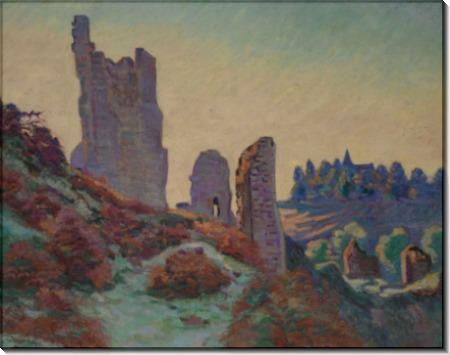 Руины замка Крозан - Гийомен, Арманд