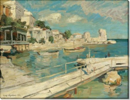 На побережье Черного моря, 1914 - Коровин, Константин Алексеевич