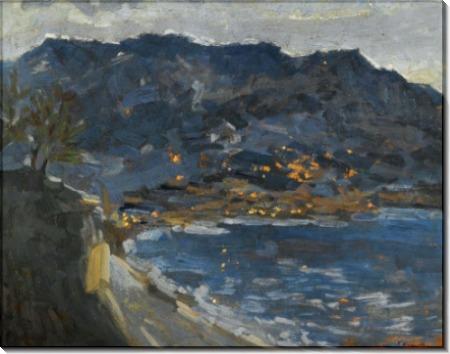 Ранний вечер, Крым, 1915 - Коровин, Константин Алексеевич