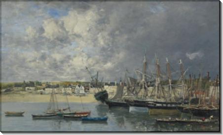 Лодки в порту Айнк, 1873 - Буден, Эжен