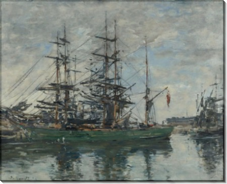 Бассейн в Довиле, 1878 - Буден, Эжен