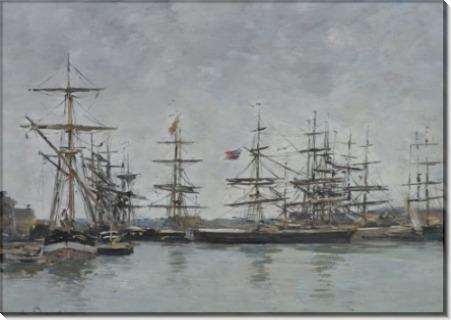 Довилль, 1880-85 - Буден, Эжен