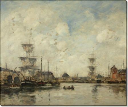 Фекам, бассейн, 1894 - Буден, Эжен