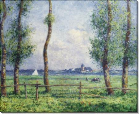 Пейзаж с берегом  моря, 1911 -  Пюигадо, Фердинанд дю