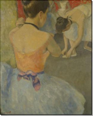 Балерина перед танцем - Галл, Франсуа
