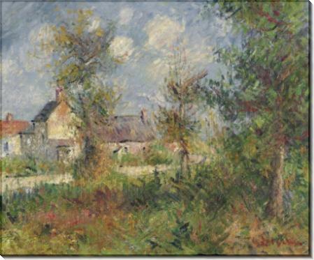 Пейзаж в Нормандии, 1927 - Луазо, Гюстав