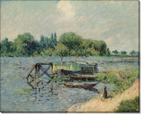 Луан на Сене на Херблэй 1906 - Луазо, Гюстав