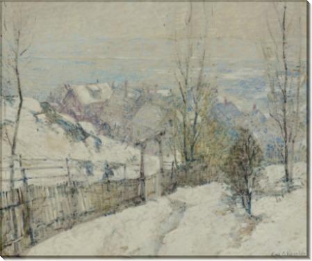 Падает снег, 1917 -  Уиггинс, Гай Кэрлтон