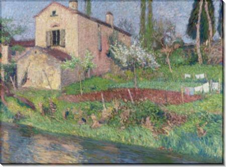 Дом Марии-Луизы весной на Лабасти-дю-Вер - Мартен, Анри Жан Гийом