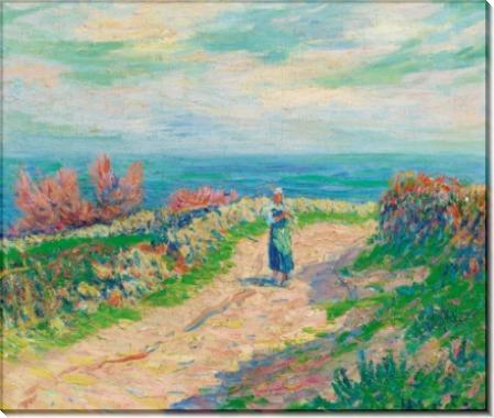 Дорога рядом с морем, 1904 - Море, Анри