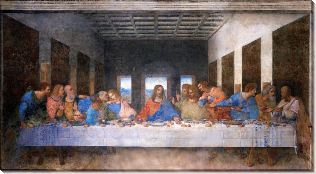 Тайная вечеря - Винчи, Леонардо да