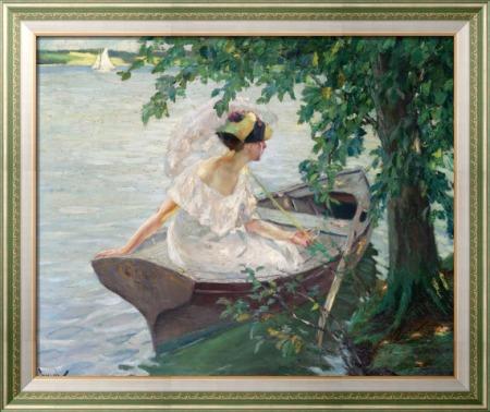 Прогулка на лодке, 1917 - Какьюл, Эдвард