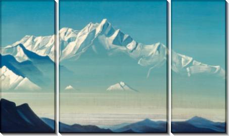 Гора пяти сокровищ (Два мира). Из серии «Святые горы» - Рерих, Николай Константинович