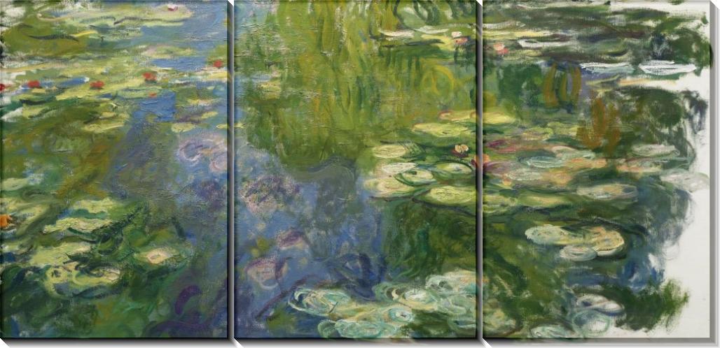 Пруд с водяными лилиями, 1917-19 - Моне, Клод