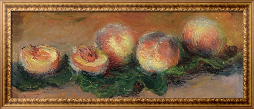 Персики, 1882 - Моне, Клод