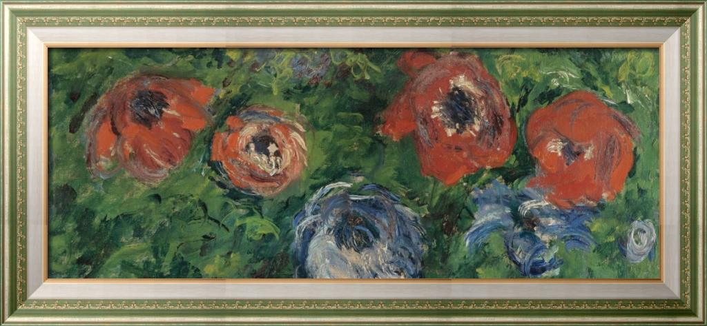 Анемоны, 1885 - Моне, Клод
