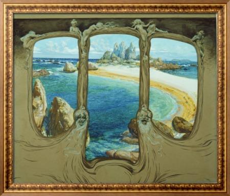 Вид из окна картеы - Купка, Франтишек