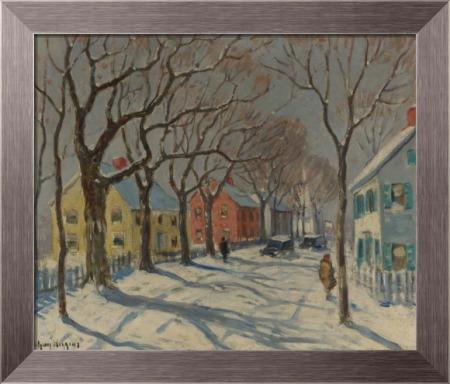 Улица, Эссекс, штат Коннектикут, 1940 -  Уиггинс, Гай Кэрлтон