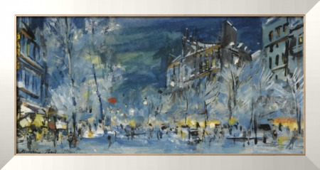 Париж зимой - Коровин, Константин Алексеевич
