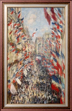 Улица Монтегю 30 июня 1878 - Моне, Клод