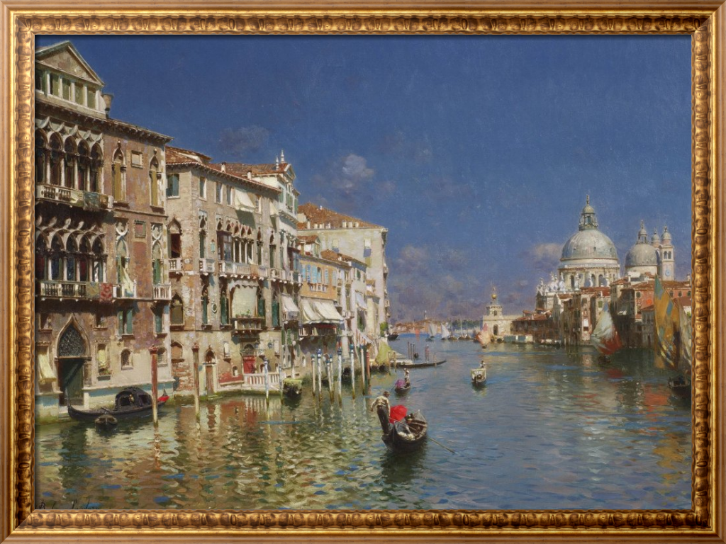 Гранд канал, Венеция - Санторо, Рубенс