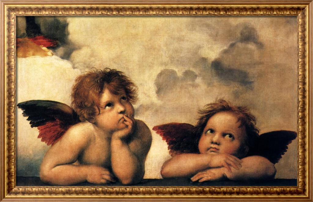 Ангелы - Рафаэль, Санти