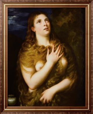 Кающаяся Мария Магдалина - Тициан Вечеллио