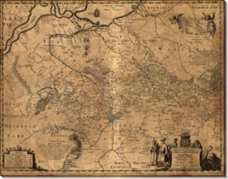 Карта Украины - Левассёр де Боплан, Гийом