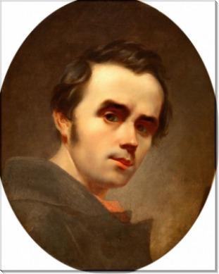 Тарас Шевченко. Автопортрет 1840 г - Шевченко, Тарас Григорьевич
