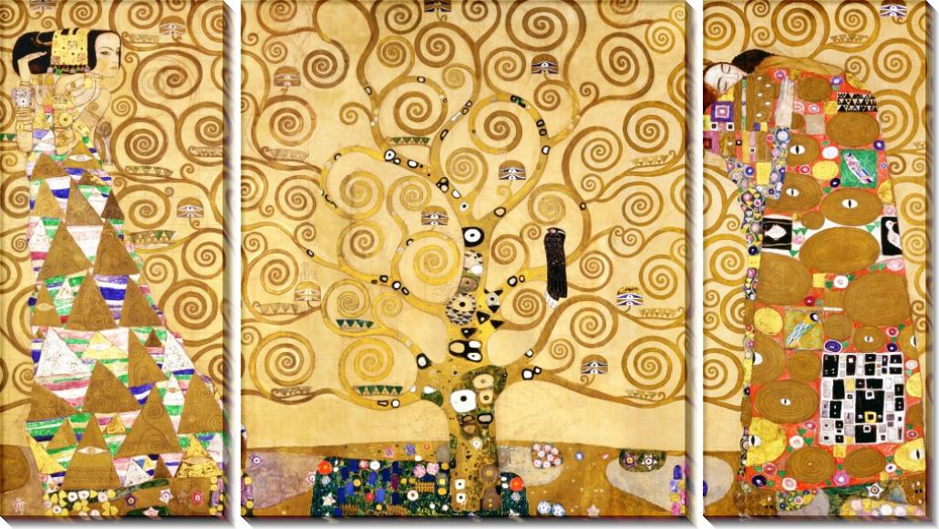 Дерево жизни - Климт, Густав