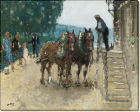 Пара лошадей (The Pair of Horses) - Монтезин, Пьер Эжен