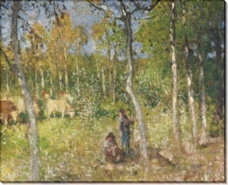 Деревенский пейзаж (Country Scene) - Монтезен, Пьер-Эжен