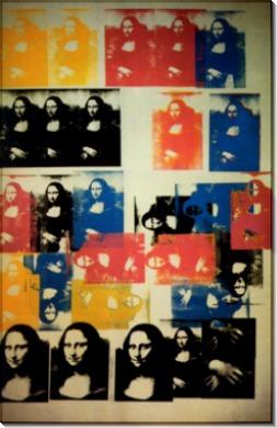 Мона Лиза (Mona Lisa), 1963 - Уорхол, Энди