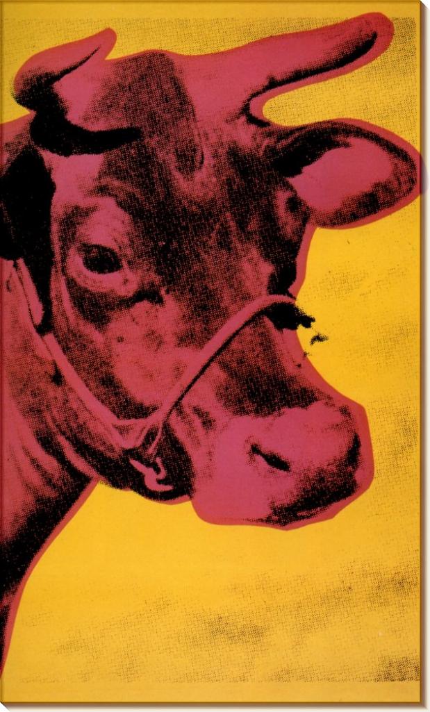 Корова, 1966 - Уорхол, Энди