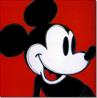 Мики Маус (Mickey Mouse), 1981 - Уорхол, Энди