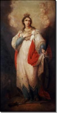 Святая Екатерина, 1814–1815 гг. -  Боровиковский, Владимир Лукич