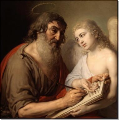 Евангелист Матфей, 1804-1809гг. -  Боровиковский, Владимир Лукич