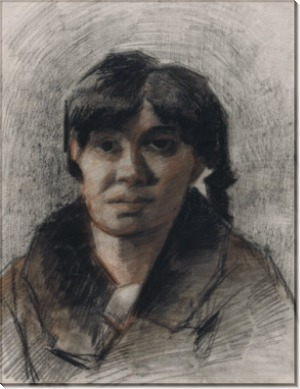 Портрет женщины (Portrait of a Woman), 1885 - Гог, Винсент ван