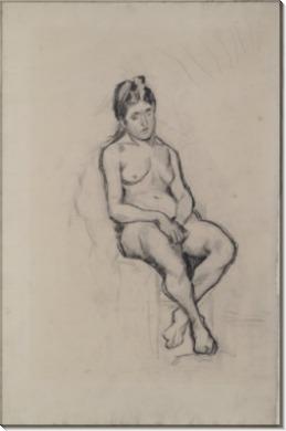 Сидящая обнаженная (Seated Female Nude), 1886 - Гог, Винсент ван