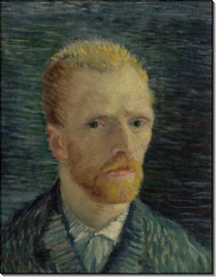 Автопортрет 7 (Self Portrait 7), 1887 - Гог, Винсент ван